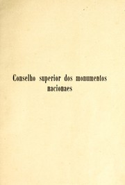 Cover of: Monumentos nacionaes