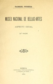 Cover of: Museu Nacional de Bellas-Artes