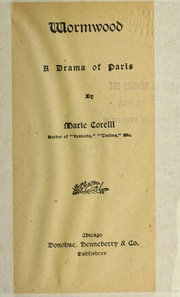 Cover of: Wormwood | Marie Corelli