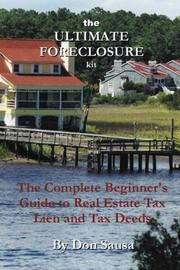 Cover of: The Ultimate Foreclosure Kit | Don Sausa