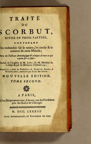 Cover of: Traité du scorbut