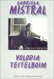 Cover of: Gabriela Mistral