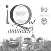Cover of: Que Animales!