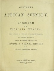 Cover of: Sketches of African scenery, from Zanzibar to the Victoria Nyanza