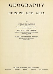 Cover of: Geography