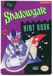 The Shadowgate Hint Book by Kemco/Seika