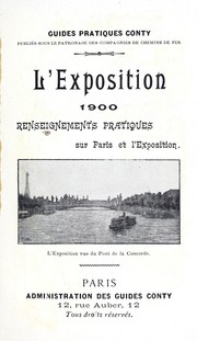 Cover of: L'Exposition 1900