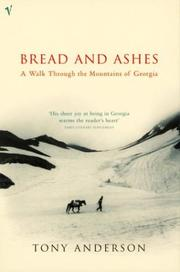 Cover of: Bread and Ashes | Tony Anderson