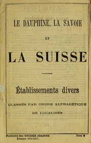 Cover of: Suisse