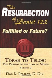 Cover of: Torah to Telos: The Passing of the Law of Moses |