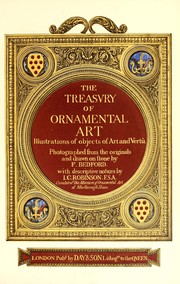 Cover of: The treasury of ornamental art | Sir J. C. Robinson