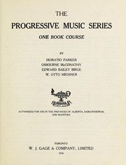 Cover of: The progressive music series
