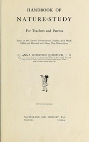 Cover of: Handbook of nature-study for teachers and parents