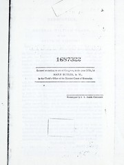 Cover of: A history of the commonwealth of Kentucky