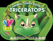 Cover of: Animal Shape Book - Triceratops |