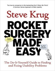 Cover of: Rocket Surgery Made Easy | Steve Krug