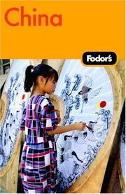 Cover of: Fodor's China | Fodor's