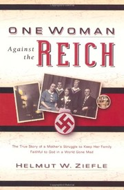 Cover of: One Woman Against the Reich |