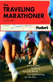 Cover of: The Traveling Marathoner