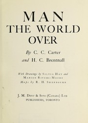 Cover of: Man the world over