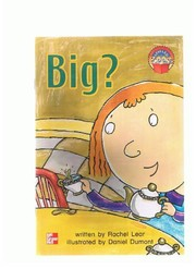Cover of: Big? (Leveled books) | Rachel Lear
