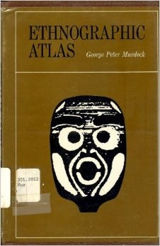 Ethnographic atlas by George Peter Murdock
