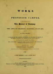 Cover of: The works of the late Professor Camper