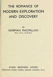 Cover of: The romance of modern exploration and discovery