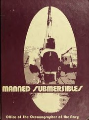 Cover of: Manned submersibles | R. Frank Busby