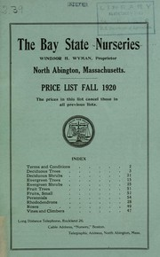 Cover of: Price list