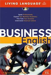 Cover of: Business English (LL (R) ESL) | Living Language