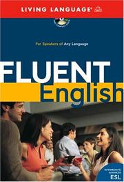 Cover of: Fluent English | Living Language
