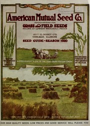 Cover of: Seed guide | American Mutual Seed Co