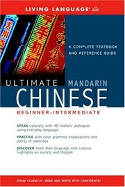 Cover of: Ultimate Mandarin Chinese