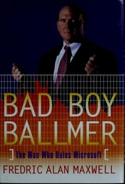 Cover of: Bad boy Ballmer | Fredric Alan Maxwell