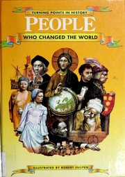 Cover of: People who changed the world | Philip Wilkinson