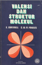 Cover of: Valency and molecular structure | E. Cartmell, G. W. A. Fowles