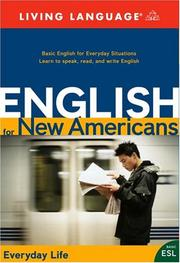 Cover of: English for New Americans | Living Language