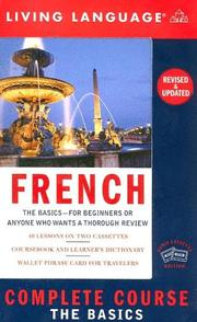 Cover of: Complete French |