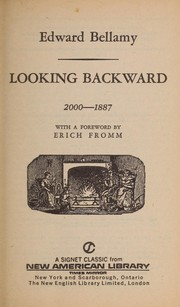 Cover of: Looking backward from 2000 to 1887