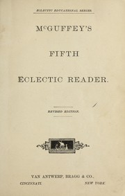 Cover of: McGuffey's fifth eclectic reader
