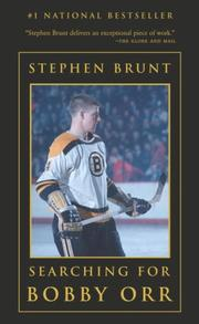 Cover of: Searching for Bobby Orr | Stephen Brunt