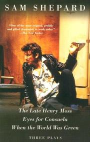 Cover of: The late Henry Moss
