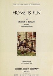 Cover of: Home is fun
