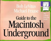 Cover of: Guide to the Macintosh underground: Mac culture from the inside
