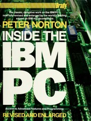 Inside the IBM PC by Peter Norton