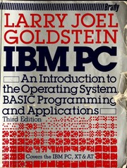 Cover of: IBM Personal Computer | Larry Joel Goldstein, Martin Goldstein