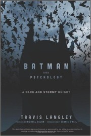 Cover of: Batman and psychology
