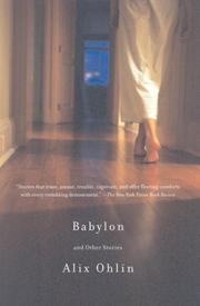 Cover of: Babylon and Other Stories (Vintage Contemporaries) | Alix Ohlin