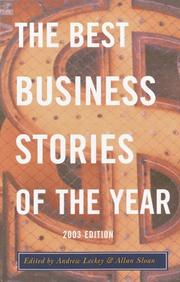 Cover of: The Best Business Stories of the Year